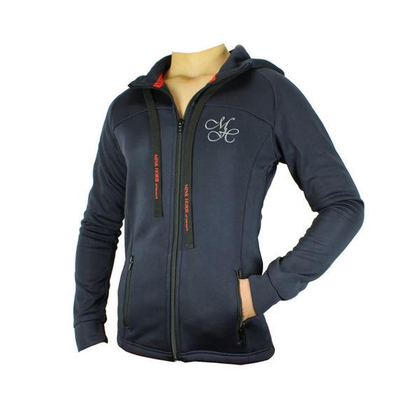 Zip-up hoodie, Mink Horse