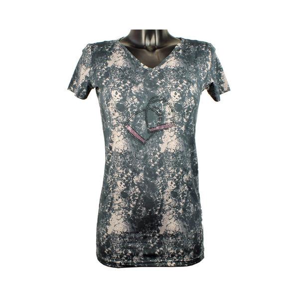 Stirup T-shirt, Mink Horse