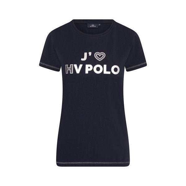 T-Shirt m. print. HV Polo