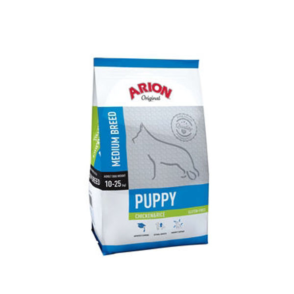Puppy medium. Chicken & rice